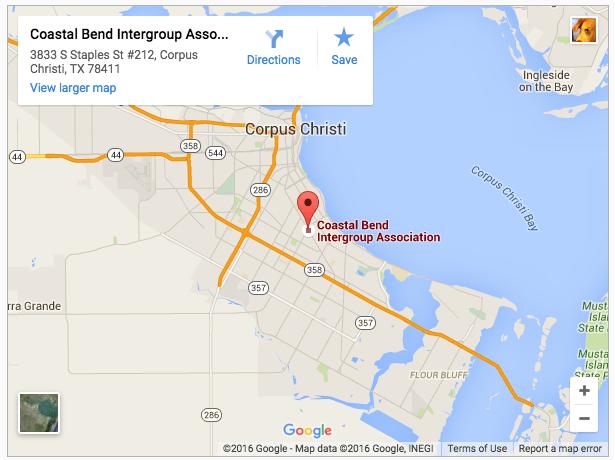 CBIA address map